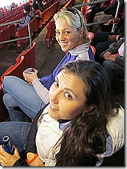 ammie and me at game sitting